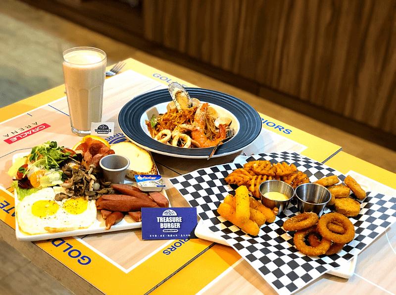 Treasure Burger餐點