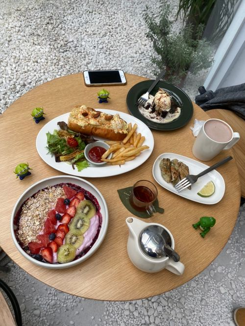 BECOME早午餐 台北玻璃屋餐廳餐點
